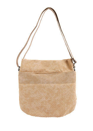 Shoulder bag with punched pattern from s.Oliver