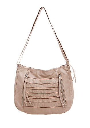 Shoulder bag with topstitching from s.Oliver