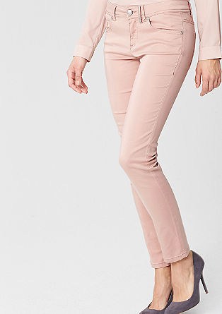 Sienna: coloured stretch jeans from s.Oliver