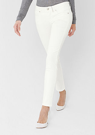 Sienna: coloured stretchjeans