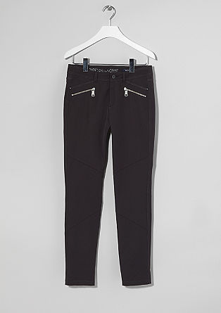 Sienna: jeans met ritsdetails