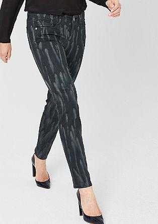 Sienna: Jeans mit Painting-Effekt