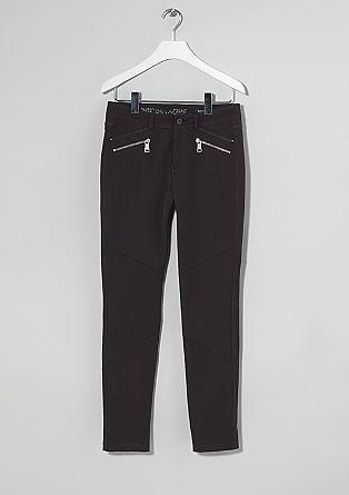 Sienna: Jeans mit Zipp-Details