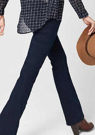 Sienna: Schmale Bootcut-Jeans