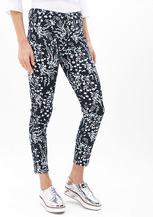 Sienna slim low: 7/8-broek