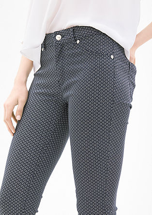 Sienna Slim Low: 7/8-length trousers from s.Oliver