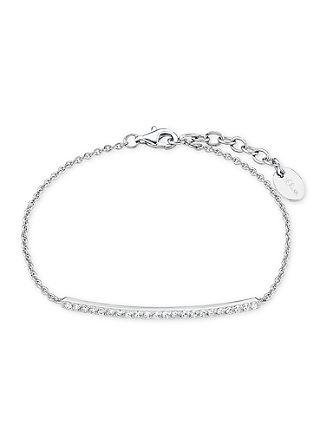 Silberarmkette mit Zirkonia