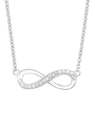 Silberkette mit Infinity-Anhänger