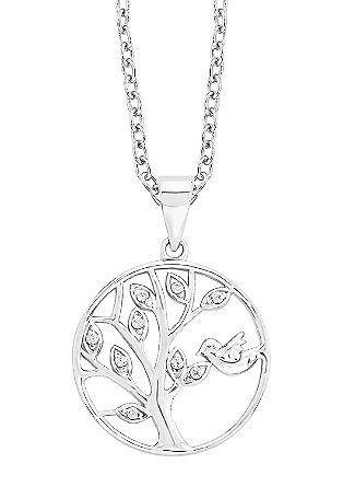 Silberkette mit Lebensbaum