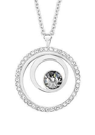 Silberkette mit Ring-Anhänger