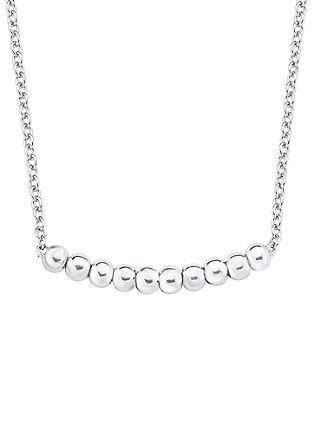 Silberne Halskette 'Kügelchen'