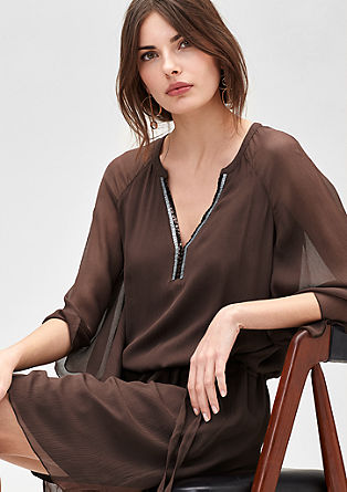 Silk tunic dress from s.Oliver