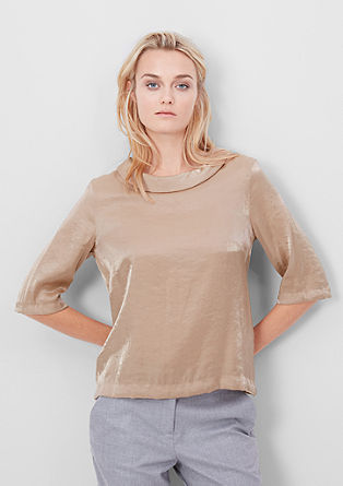 Silky blouse top from s.Oliver
