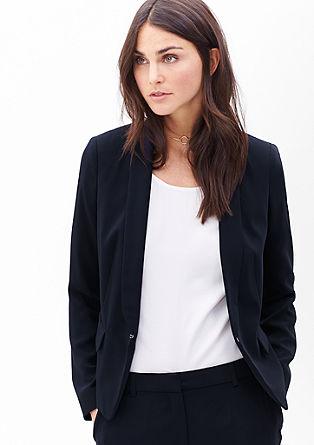 Silky-matte blazer from s.Oliver