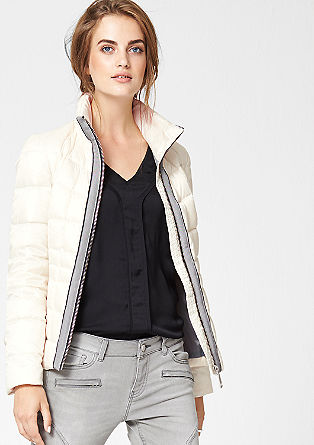 Silky shimmering down jacket from s.Oliver