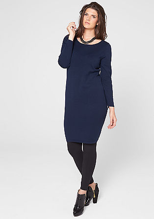 Simple, elegant knit dress from s.Oliver