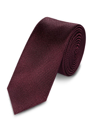 Simple, elegant silk tie from s.Oliver