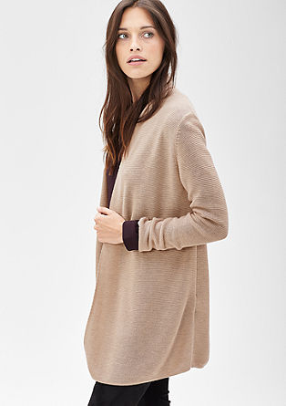 Simple long cardigan from s.Oliver