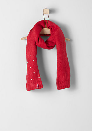 Sjaal met een fleece voering