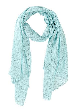 Sjaal met motief in vintage look