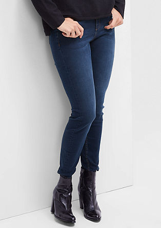 Skinny: Blue stretch jeans from s.Oliver