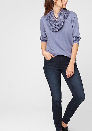 Skinny: dark stretch jeans from s.Oliver