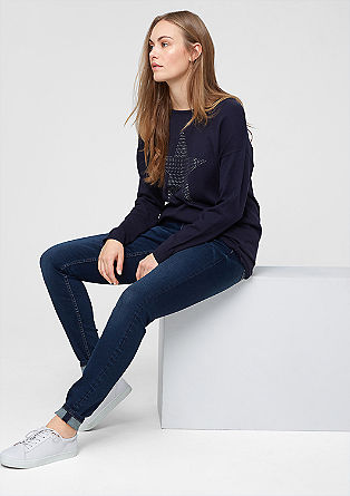 Skinny: shaping stretch jeans from s.Oliver