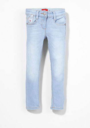 Skinny Kathy: jeans met stras