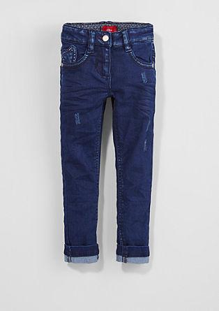 Skinny Kathy: Jeans mit Herzchen