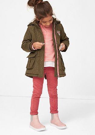 Skinny Kathy: Raztegljive žametne hlače
