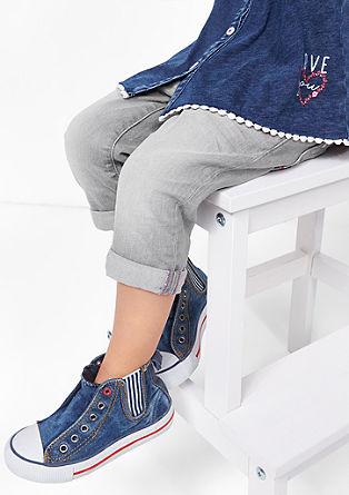 Skinny Kathy: Stretchige Capri-Jeans