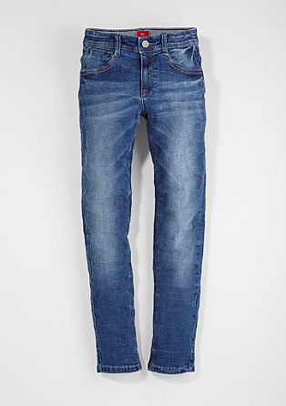 Skinny Seattle: Crinkle-Jeans