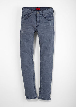 Skinny Seattle: Crinkle jeans from s.Oliver