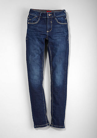 Skinny Seattle: dark stretch jeans from s.Oliver