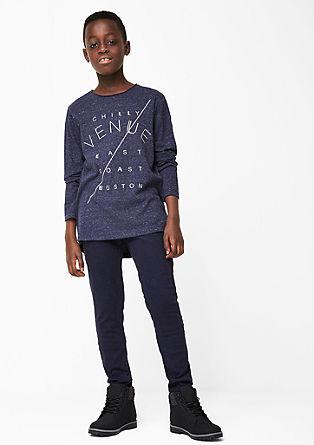 Skinny Seattle: drobno melirane hlače