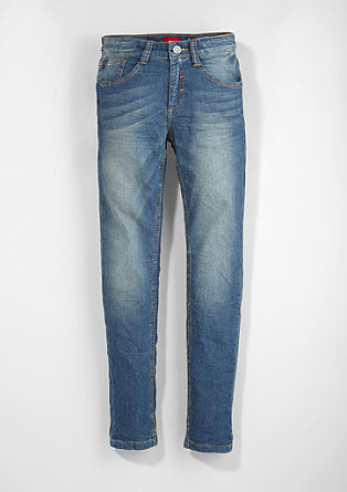 Skinny Seattle: jogger style denim pants
