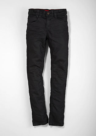 Skinny Seattle: stretch twill trousers from s.Oliver