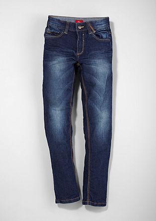 Skinny Seattle: temne raztegljive jeans hlače