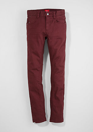 Skinny Seattle: tonal stretch trousers from s.Oliver