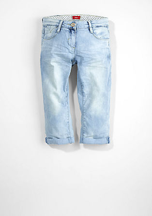 Skinny Suri: Capri jeans from s.Oliver