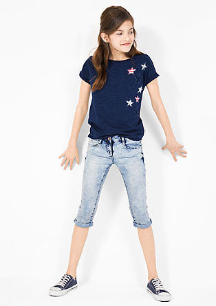Skinny Suri: casual Capris from s.Oliver