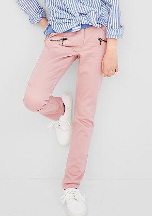 Skinny Suri: coloured jeans