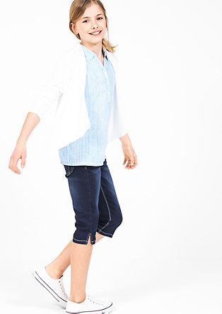 Skinny Suri: elastische capribroek