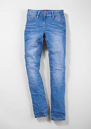 Skinny Suri: Electric Blue-Jeans