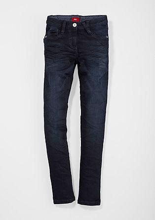 Skinny Suri: jeans hlače z barvnim učinkom