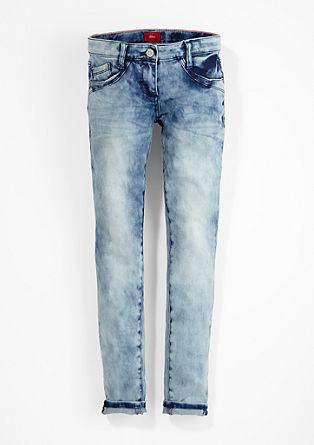 Skinny Suri: Moonwashed-Jeans