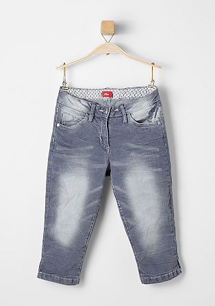 Skinny Suri: stretch denim Capris from s.Oliver