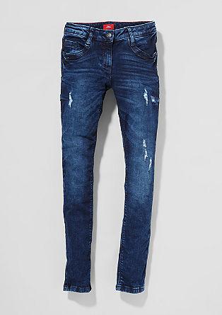 Skinny Suri: Used-Jeans