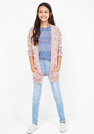 Skinny Suri:Distressed-Jeans