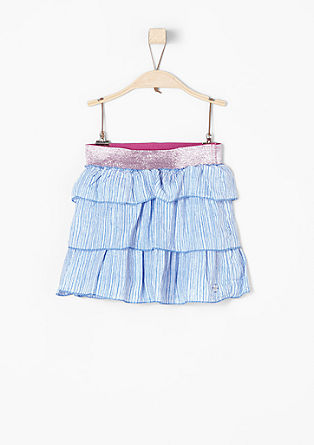 Skirt in a layered look from s.Oliver